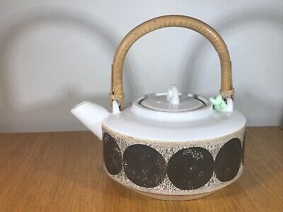Vintage Authentic & Unusual Lovely Piece Of Troika Teapot Superb Condition. • 82£