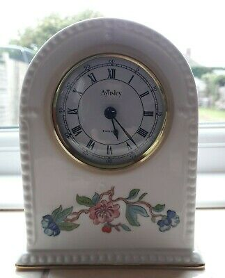 Aynsley  Fine Bone China Mantel Clock - Pembroke • 4.99£