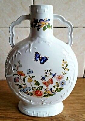 Vintage Aynsley Cottage Garden Moon Flask • 9.99£