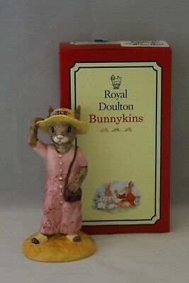 Boxed Royal Doulton Bunnykins Exclusive Members Figure The Sightseer DB215 • 0.99£