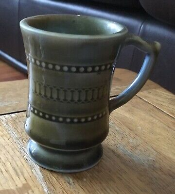 Vintage Irish Porcelain Green Small Cup • 4.99£