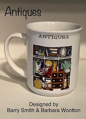 Wade An English Life Mug - Antiques - By Barry Smith And Barbara Wootton • 4.95£