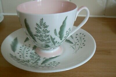 Queen Anne PAMPAS Cup & Saucer  Lovely  • 4£