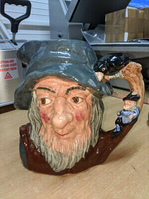 1954 Dated Royal Doulton D6438 Rip Van Winkle Collectable Large Pottery Toby Jug • 15£