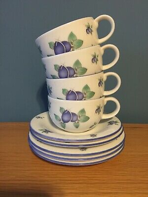 Royal Doulton Everyday Blueberry Pieces • 4£