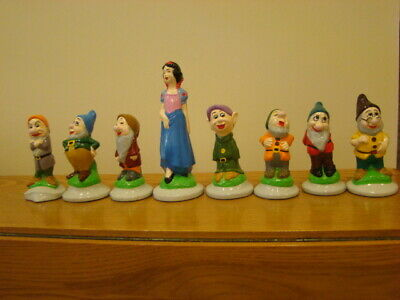 Vintage Snow White And The Seven Dwarfs Pottery • 10£