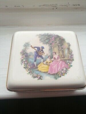 Vintage Lord Nelson Pottery Trinket Box Good Condition • 1.99£