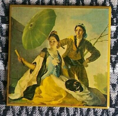 Lladro,Extremely Rare Tile,Titled  The Umbrella ,Excellent Lladro Piece. • 14.50£