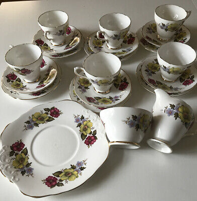 Royal Sutherland Made In Staffordshire Fine Bone China Set • 29£