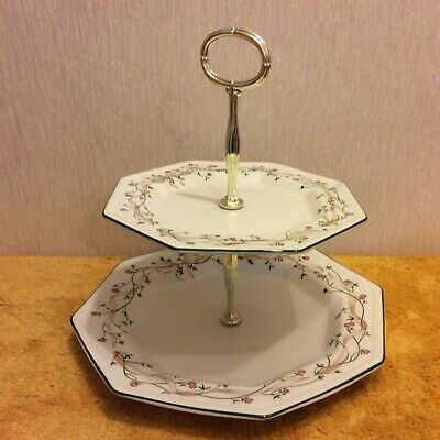 Johnson Brothers Eternal Beau Two Tier Cake Stand (360) • 10.99£