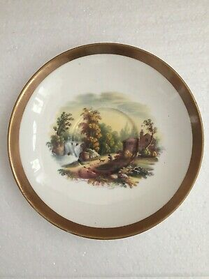 Swansea Porcelain Rare Cabinet Cup Stand Painted By George Beddow C1820 • 9.99£