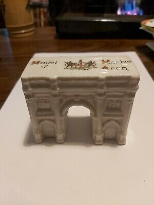 Vintage Crested Ware Model Of Marble Arch - City Of London - Carlton China  • 12£