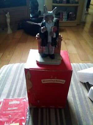 Royal Doulton Bunnykins Professions Collection Figure Barrister DB 374 Boxed (H) • 7£