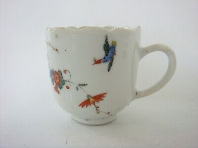 Chinese Porcelain 18th Century Qianlong Rare Kakiemon Decorated Coffee Cup C1755 • 23£
