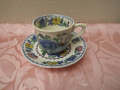 Mason's Vintage Regency Coffee Cup And Saucer - England • 5£