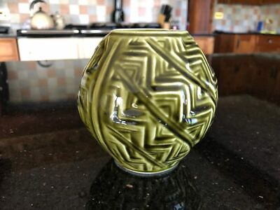 Green Celtic Vase, Pattern 116 / R • 8.50£