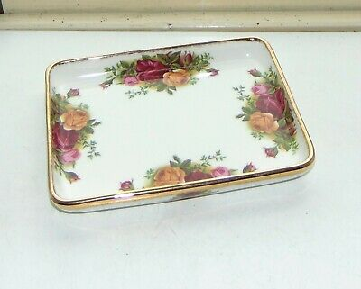 Royal Albert Fine Bone China Old Country Roses 1 X Small Tray 16cm • 8£