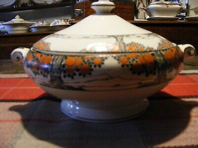 Crown Ducal Orange Tree Tureen Extremely Rare • 100£