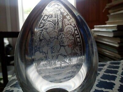 Wedgwood Glass Paperweight Christmas 1979  • 8.95£