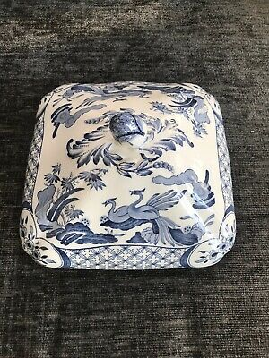 Furnivals - Old Chelsea - Blue - Vegetable Tureen Lid Only MINT Condition • 25£
