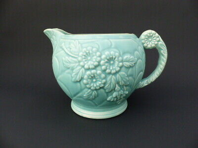 Vintage Art Deco  Green Jug - By Arthur Wood C 1934 - Victory Pattern • 29.99£