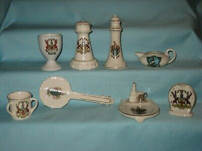 8 Crested Pieces [Inc. Banjo & Bass Beer Tray] - All With BUXTON Crest • 6.99£