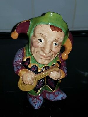 Vintage Staffordshire Jester Character Jug By Manor • 7.50£