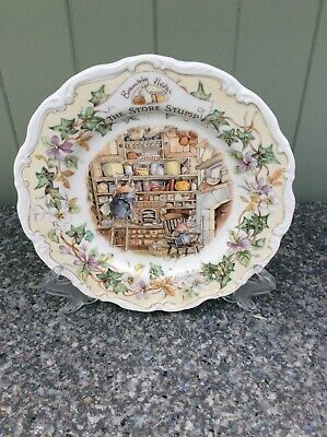Royal Doulton Brambly Hedge Plate 'The Store Stump' Complete With Original Box • 6.50£