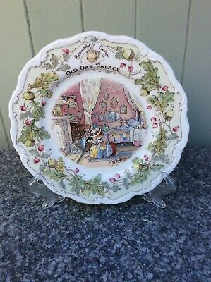 Royal Doulton Brambly Hedge Plate 'Old Oak Palace' Complete With Original Box • 6.50£