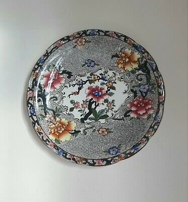 Lovely Plate S Hancock Sons Coronaware  Reproduction Of Chinese Design 'cheng' • 35£