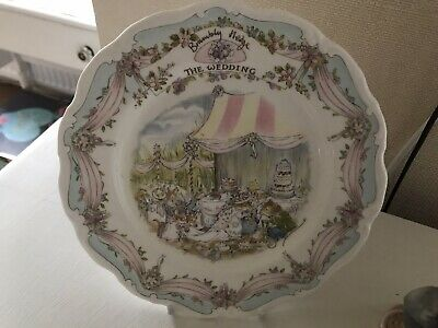 Brambly Hedge The Wedding Plate • 10£