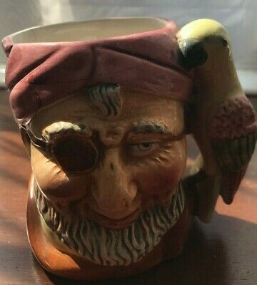 Toby Jug - Pirate And Parrot - In Excellent Condition  • 14.95£