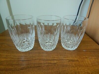 3 Waterford Crystal COLLEEN  10 Oz Tumblers.   4 1/4 . • 27£