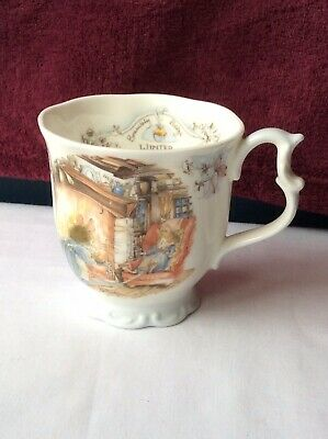 Royal Doulton Brambly Hedge Beaker Mug WINTER J Barkham • 14.99£