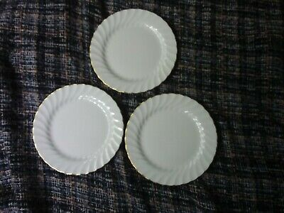 Wedgwood Gold Chelsea Side Plates X 3 • 7.99£