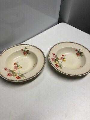 Two Small Creampetal Grindley Bowls  • 8£