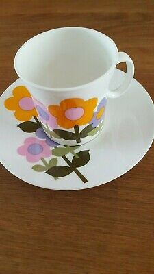 STUNNING RETRO DOLLY DAYS 3 X TEA CUP & SAUCER HOSTESS TABLEWARE BY JOHN RUSSELL • 6£