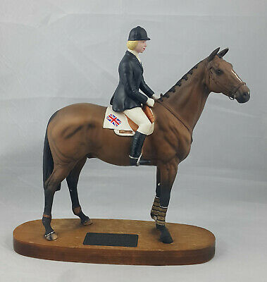 Beswick Psalm, Ann Moore Up Model No. 2535 – Nibbled & Missing Reins • 150£