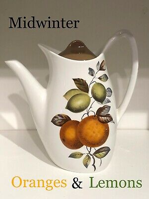 Midwinter Stylecraft Oranges And Lemons Coffee Pot *clearance* • 0.99£