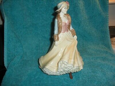 Royal Worcester 'Ladies Day' High Society Lady Figure. • 10£