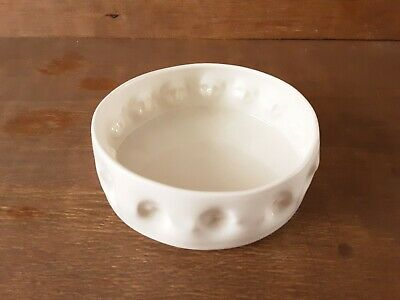Anja Lubach Signed White Dish 3D Body Faces Relief Studio Pottery Weird Creepy  • 49.99£