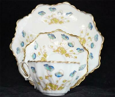 Antique Paragon Star Bone China Porcelain Cup Saucer Plate Wileman • 34.99£
