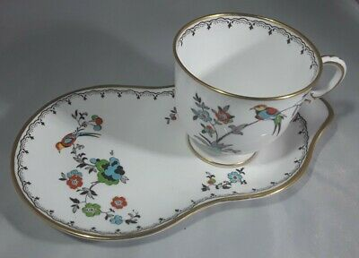 Art Deco Style Tuscan Cup And Saucer / Cake Plate (tennis Teaset ) Reg No 771590 • 24£