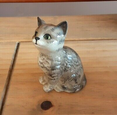 Quality Beswick Gloss Sitting Cat- Excellent Condition  • 20£