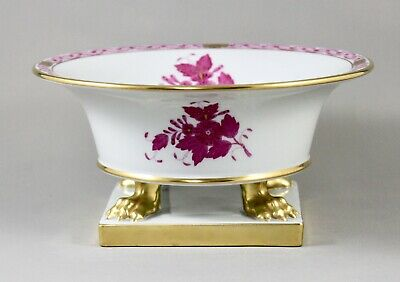 Stunning Herend Porcelain Apponyi Raspberry Large Empire Claw Footed Vase  • 225£