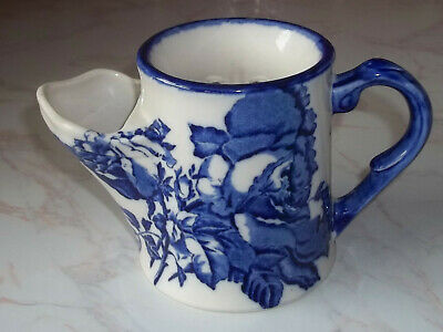 Vintage Victoria Ware Staffordshire Ironstone Flow Blue Shaving Mug By Blakeney  • 19.95£