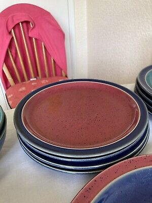 Denby Harlequin Medium Plate. 9 Availble Different Colours • 6£