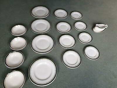 Wood And Sons Buckingham Full Dinner Service 8 Person Plates Bowls Bedfordshire • 20£