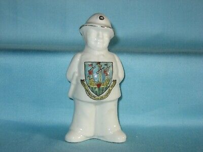 Arcadian Policeman With Hands Behind Back - WEYMOUTH & MELCOMBE REGIS Crest • 9.99£