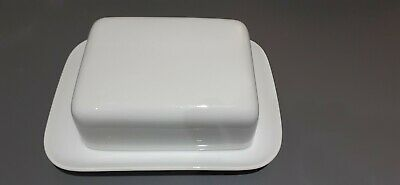 Thomas (germany) White China Porcelain Medaillon Butter Dish & Lid Brand New • 29.99£